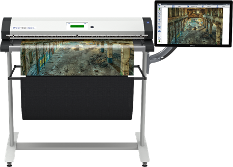 Image Access WideTEK 25 flatbed scanner